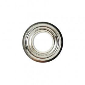 10 Oeillets Inox brossé 22mm à sertir - Confection rideaux