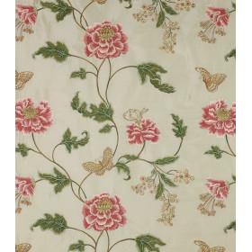 Tissus Oriental Poppy Colfax - BAPTISTA